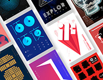 Font poster series / 字体海报