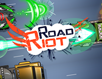 Road Riot UI/UX and Promotional Materials