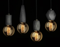 FIBER edition (concrete pendant lamp)