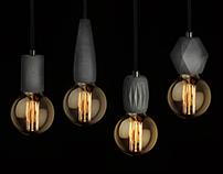 FIBER edition (concrete pendant lamp)