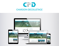 Webdesign Site vitrine Chardon Décolletage