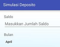 Simulasi Deposito [android app]