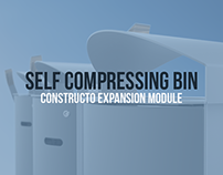 Constructo Expansion Module - Self compressing bin