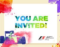 Formula One - e-mailer Invites