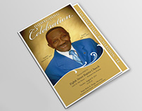 Homegoing Celebration – Custom Funeral Program