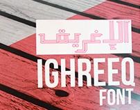 IGHREEQ Font