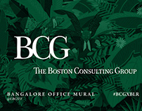 BCG - Bangalore Office Mural