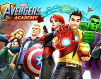 AVENGERS ACADEMY--Art From the Game