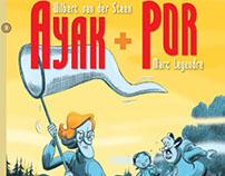 AYAK + POR 3, comic book