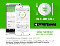 FYB LAB Healthy diet app