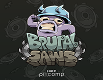 Brutal Saws // Videogame Artwork