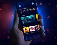 Facebook Gaming UI/UX Redesign Concept