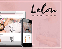 Logo & Web Design for Lelou CO.