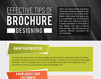 Effective Tips of Brochure Designing