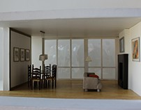 Interior design, mock up