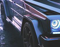 G-Wagon Concept Design