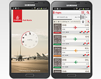Flight dispatch and landing mobile app