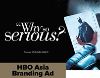 HBO Asia Trade/Branding Ad Campaign 2009