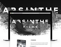Absinthe Films App & Web Design