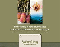 Ad for Southern Living Home Collection