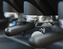 3D model Coffee Machine Simonelli Aurelia 3 Group