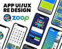Zoop App UI/UX Re Design