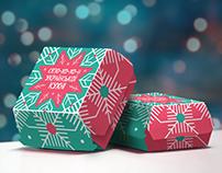 McDonald's New Year Boxes for Ukrainian Season