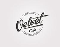 Velvet Café // logo & identity // 2013