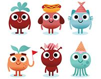 Cappelen Damm characters