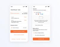 Mobile Payment Gateway UI UX
