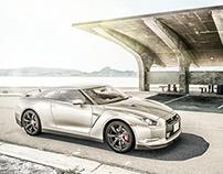 CGI 3D - Nissan GTR