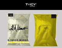 TICY - Eistee Kommunikationsdesign