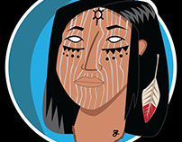 Native 2 #illustration #characterdesign
