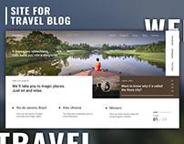 Site For TravelBlog