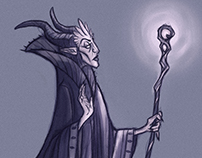 Sleeping Beauty - Maleficent character redesign