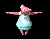 Mindy: 3-D Character Concept Reel