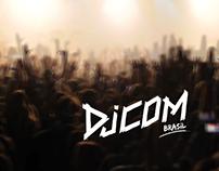 DJCOM.com.br // Logo Branding