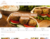 Cooklogs Website, Design and wordpress customization