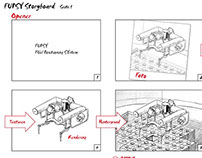 Illustration: Storyboard für FUPSY