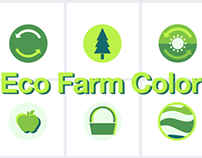 Eco Farm Color Icon Set [SVG]