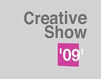 2009 Creative Show Branding