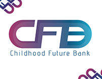شعار لـ بنك الطفولة المستقبلي
