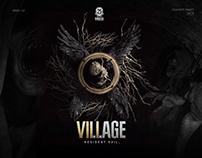 Resident Evil 8: Village Web Design Concept