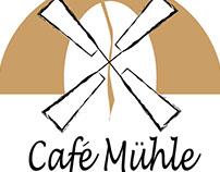 Cafe Mühle Logo Design