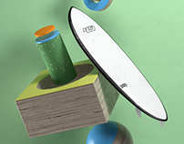 Surfboards and shapes