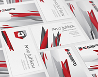 Digiinfo Business Cards design