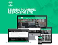 Semons Plumbing Responsive Site