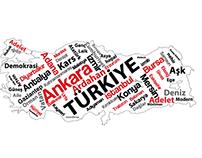 Turkey Map Vectorel Turkiye Haritasi Vektorel