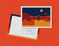Hollywood Postcards