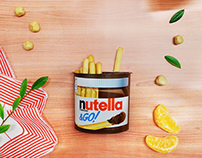NUTELLA&go - diving gif